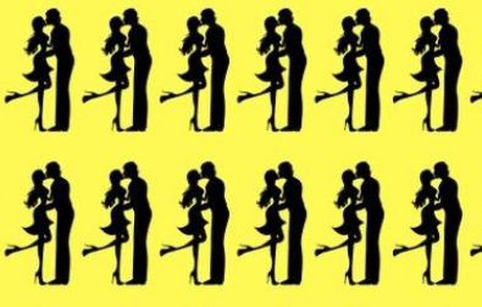 Revisa la gráfica de las parejas y descubre cuál de ellas es la que se diferencia del resto. (Facebook)