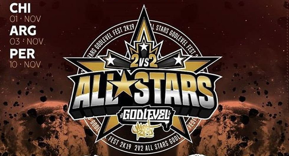 God Level 2 vs. 2 All Stars Argentina 2019: cómo y cuándo ver el evento de Freestyle desde 'Obras Sanitarias'