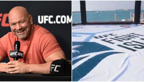 Dana White mostró detalles de la infraestructura y protocolo sanitario que tendrá el UFC Fight Island. (Getty Images/UFC)
