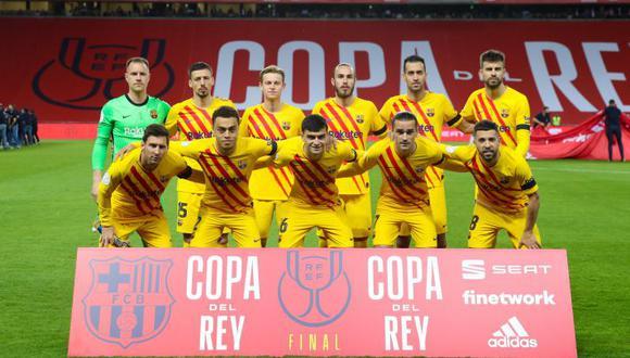 Jugadores de peso del Barcelona tendrán que renegociar sus contratos. (Foto: AS)