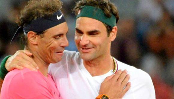 Roger Federer mostró su alegría por nuevo éxito de Rafael Nadal en Roland Garros