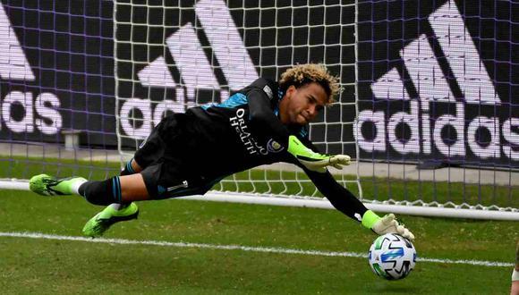 Gallese llevando entrenando dos semanas en el Orlando City de la MLS. (Foto: Reuters)