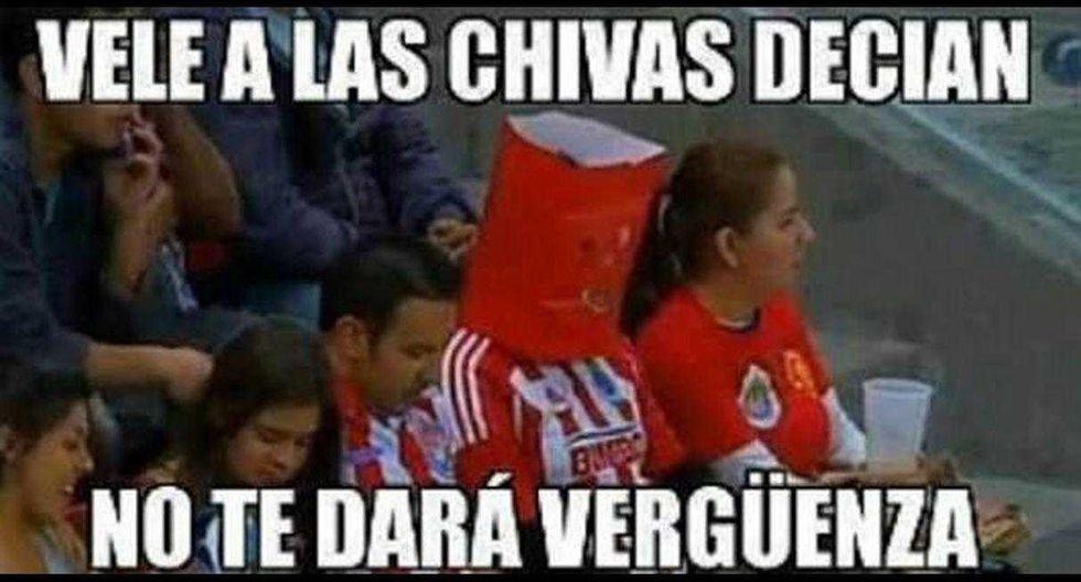 Los memes que se burlan de la caída de Chivas de Guadalajara (Foto: Facebook).