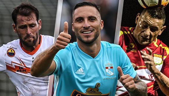 Descentralizado 2018: así se mueve la tabla de goleadores de la fecha 6 del Torneo de Verano