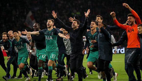 Tottenham jugará su primera final de la Champions League. (Foto: Getty Images)