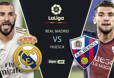 Liga Santander 2020: Real Madrid vs. Huesca EN VIVO vía DirecTV y Movistar Partidazo