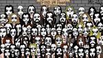 Encuentra al panda entre el grupo de artistas de black metal que es viral en redes. (Difusión)