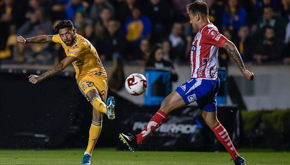 Tigres empató 0-0 contra San Luis por la jornada 1 del Clausura 2020 de la Liga MX. (Foto: Getty Images)