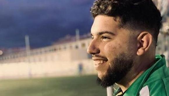 Francisco García, entrenador de 21 años, falleció este lunes a causa del coronavirus y otra patología. (Foto: Agencias)