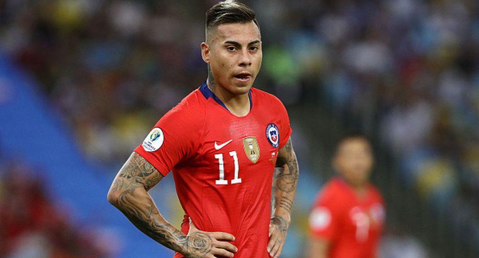 Perú vs. Chile | Eduardo Vargas (Foto: Getty Images)