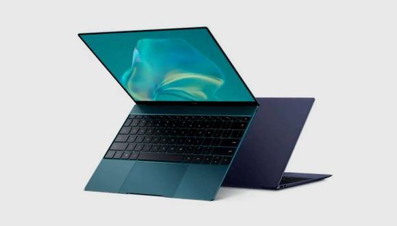 Conoce todas las características de la nueva laptop de Huawei, la Matebook X 2021. (Foto: Huawei)
