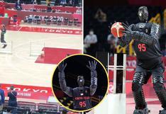 Tokio 2020: Robot gigante sorprende en Juegos Olímpicos