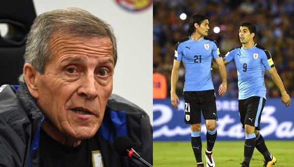 Luis Suárez (59) y Edinson Cavani (50) son los máximo artilleros de la Selección de Uruguay. (Foto: Getty)