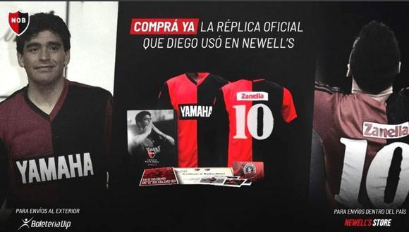 Messi pone de moda camiseta de Maradona y Newell's  hace negocio. (Foto: NOB)