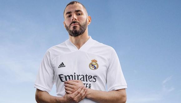 La nueva equipación del Real Madrid para la temporada 2020-21.