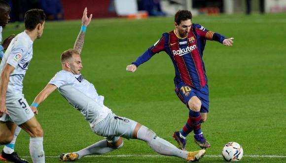 Lionel Messi termina contrato con Barcelona el 30 de junio de 2021. (Foto: Reuters)