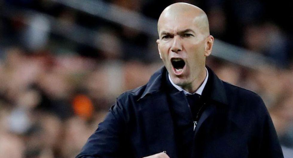 Zinedine Zidane regresó el año pasado al banquillo del Real Madrid. (Getty Images)