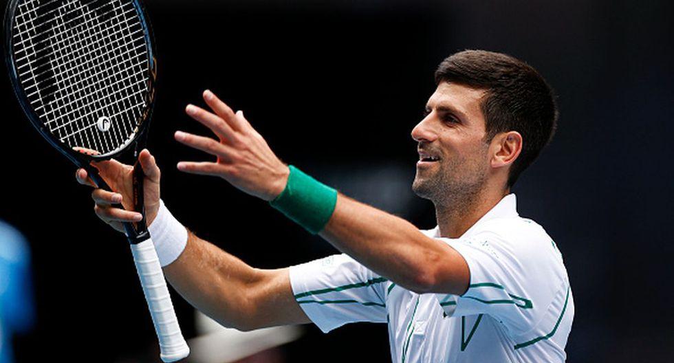 Novak Djokovic se ubica en el segundo puesto del ranking de la ATP. (Getty Images)