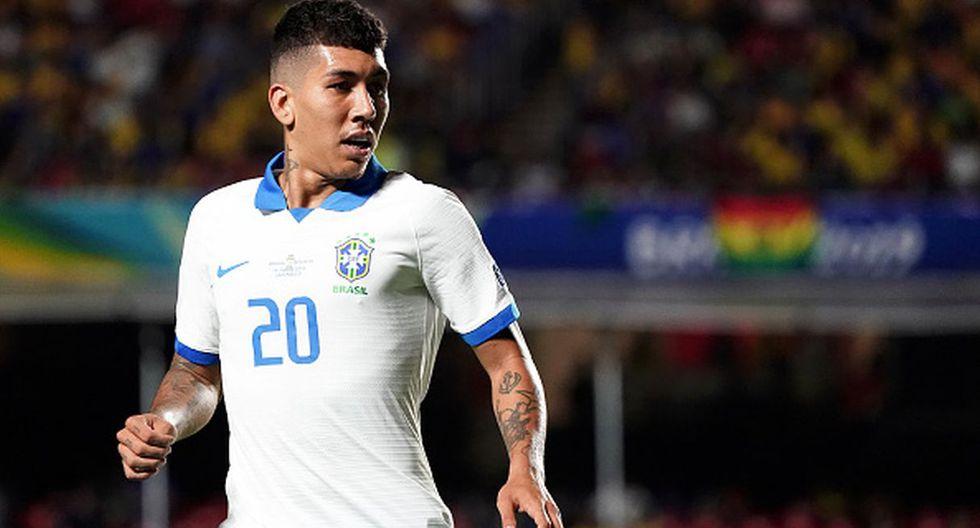 Perú vs. Brasil | Firmino en la selección brasileña (Foto: Getty Images)