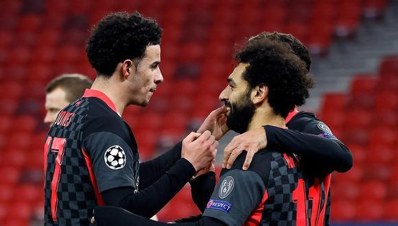 Mohamed Salah marcó el primer gol del partido para el Liverpool. (Foto: Agencias)