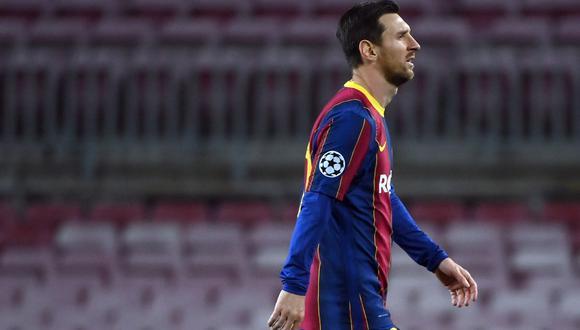 Lionel Messi no será parte del partido ante Dinamo Kiev por Champions League. (Fuente: AFP)