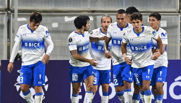 U. Católica derrotó a Nacional por el Grupo F de Copa Libertadores. (Foto: Conmebol)