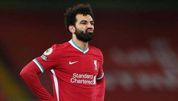 El delantero egipcio de 28 años tiene contrato con el Liverpool hasta el 2023. (Foto: Agencias)
