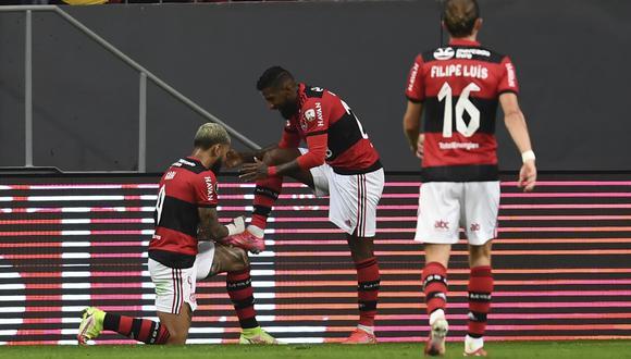Flamengo superó a Olimpia por un marcador global de 9 a 2. (Foto: Agencias)