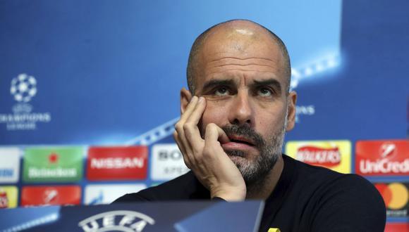 Josep Guardiola ganó dos Champions League en su carrera como entrenador. (AP)