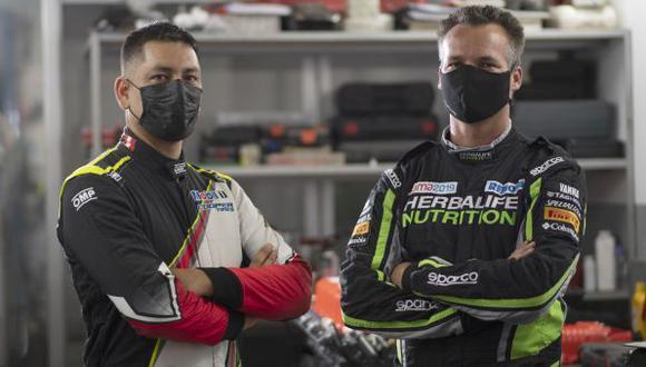 Nicolás Fuchs se unió al Castro Yangaly Team para competir en el Rally de Chile . (ITEA Photo)
