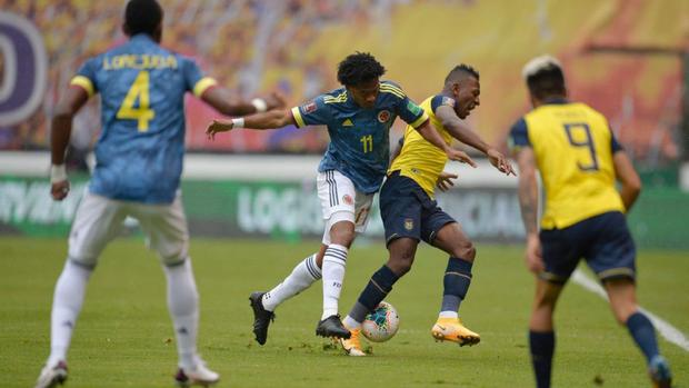 Colombia vs.  Ecuador via GOL Caracol: TV channels, date and time of the match by Eliminatory.  (Photo: Agencies)