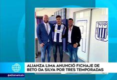 Alianza Lima oficializó el fichaje de Beto Da Silva