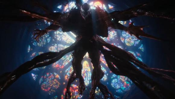 La nueva película de Venom, protagonizada por Tom Hardy, presentó su tráiler oficial. (Foto: Captura de video)
