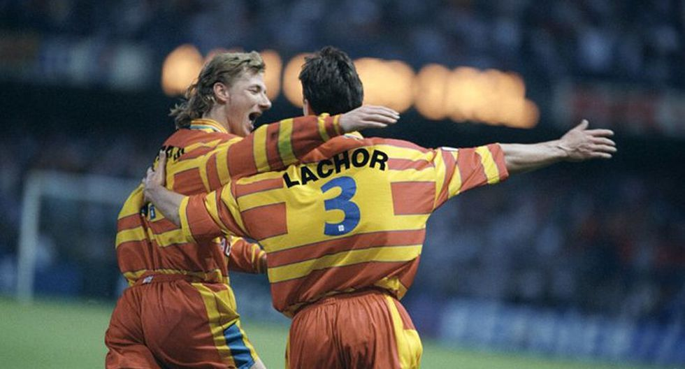 RC Lens en Ligue 1 1997/98 (Getty)