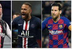 Dueños de todo: Cristiano y Messi encabezan lista de los jugadores con más ingresos en el mundo [FOTOS]
