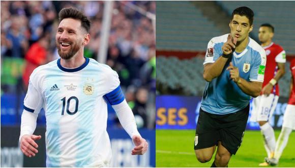Messi y Suárez lideran la lista de máximos goleadores en la historia de las eliminatorias sudamericanas. (Agencias)