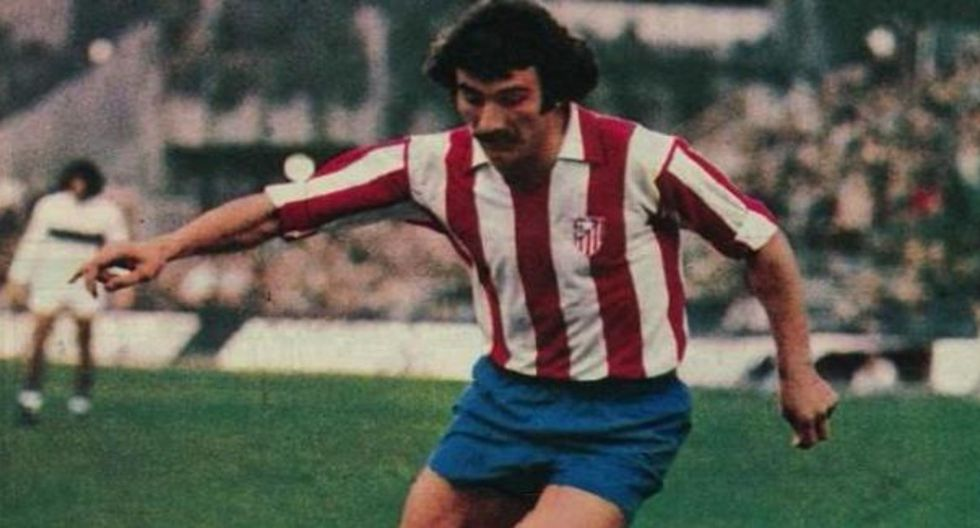 José Luis Capón, leyenda del Atlético de Madrid. (Diario Marca)