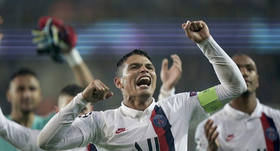 Thiago Silva es el actual capitán del plantel de PSG. (Foto: AFP)