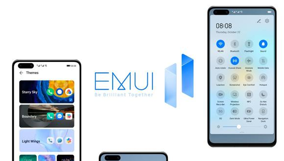 ¿Tu celular se actualizará a EMUI 11? Mira el listado oficial de Huawei. (Foto: Huawei)