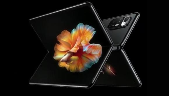 Conoce todos los detalles del smartphone plegable, Xiaomi Mi Mix Fold. (Foto: Xiaomi)