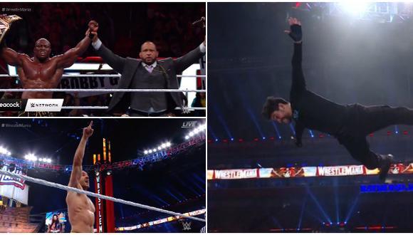 Todos los ganadores del día 1 de WrestleMania 37 desde Florida. (WWE)