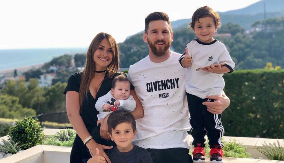 Lionel Messi y Antonela Roccuzzo forman una sólida pareja. Thiago, Mateo y Ciro son las bendiciones de su hogar. (Foto: Instagram)