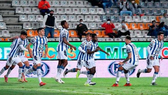 Pachuca venció 1-0 a Necaxa en la Jornada 10 del Torneo Apertura 2021 de la Liga MX. (Foto: @LigaBBVAMX)