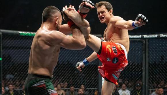 Humberto Bandenay peleará contra el campeón Bruno Cannetti el 9 de abril en Combate Global. (Combate Global)