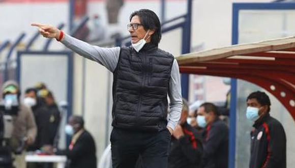 Ángel Comizzo es entrenador de Universitario desde junio del 2020. (Foto: Liga de Fútbol Profesional)