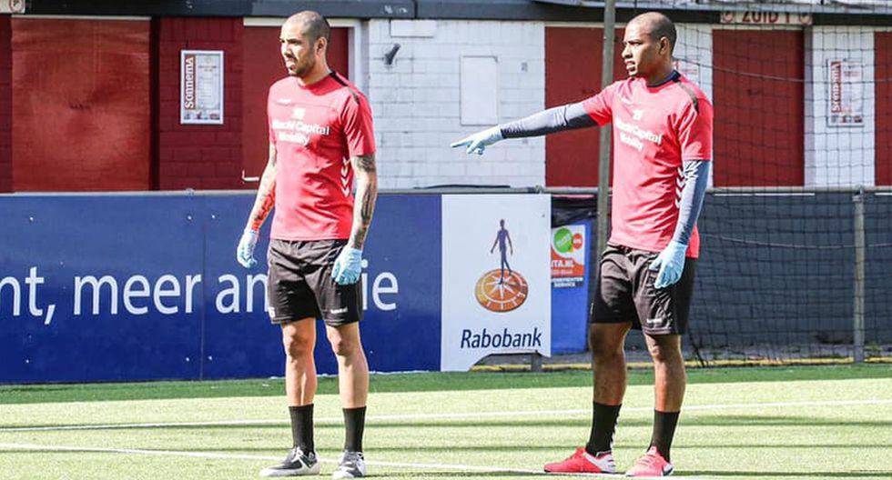Peña y Araujo volvieron a los entrenamientos en Países Bajos (Foto: FC Emmen)
