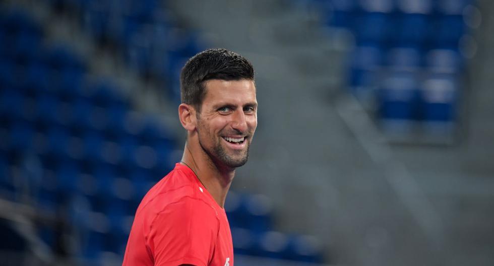 """Novak Djokovic antes de debutar en Tokio 2020: """"Será extraño un torneo sin 'Rafa' Nadal o Roger Federer"""""""