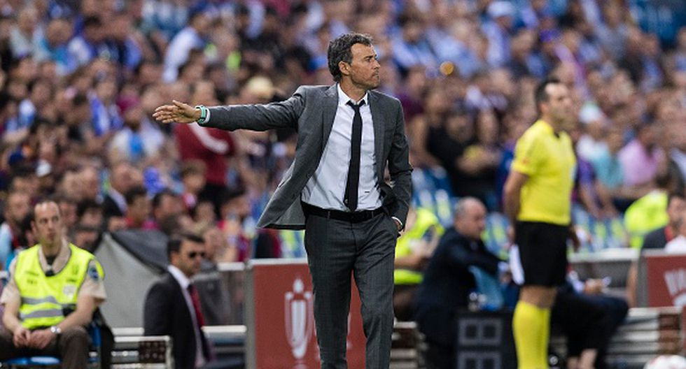 Luis Enrique tuvo su paso por Barcelona. (Getty)