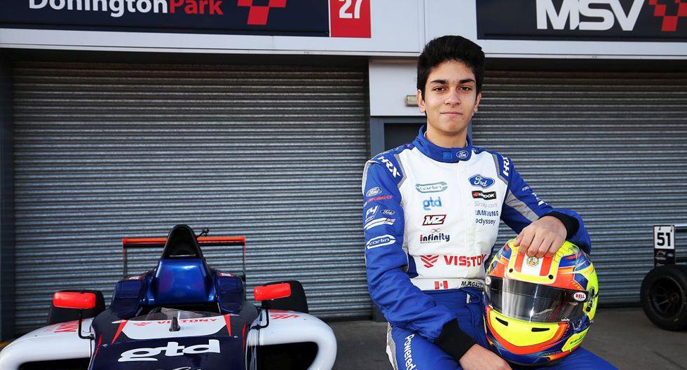 Matías Zagazeta correrá en la Fórmula 4 Británica. (Foto: ITEA Comunicaciones)