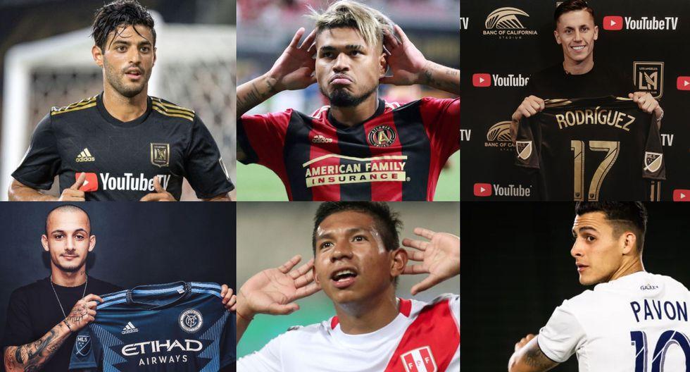 Con Edison Flores y Raúl Ruidíaz: el top 20 de los jugadores franquicia de la MLS. (Fotos: Agencias)